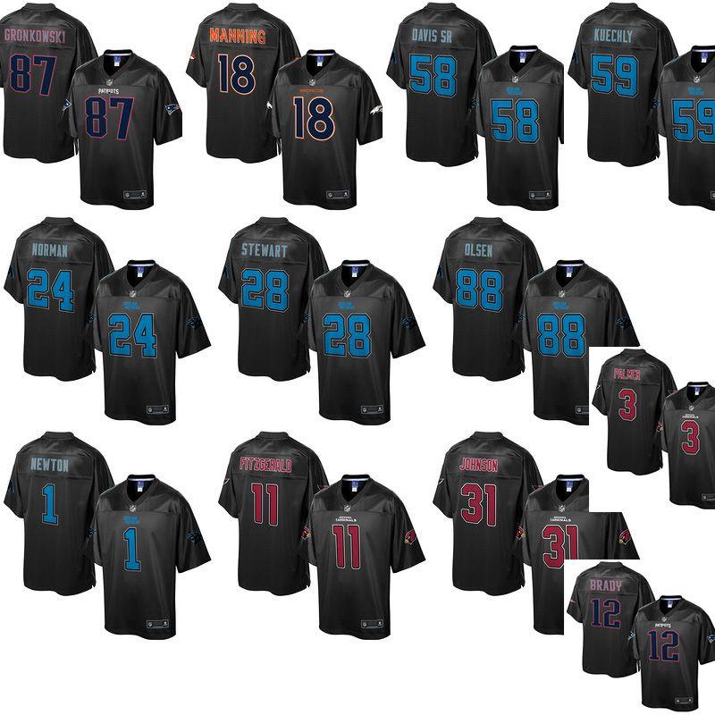 NFL Jersey's Men's Los Angeles Rams Cameron Lynch Pro Line Team Color Jersey