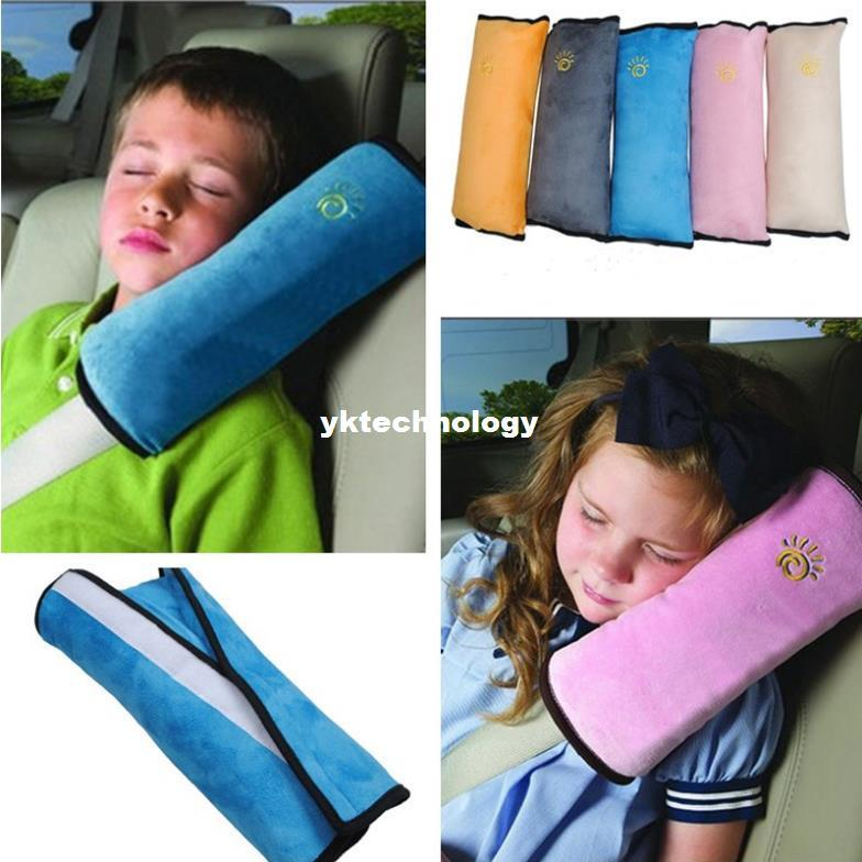 hot sale childrens auto seat pillows baby kids safety belts shoulder pads car seat belt cushion