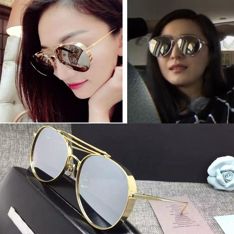 designer fashion glasses  2016 New High Quality Designer Fashion Gentle Occhiali Big Bully ...