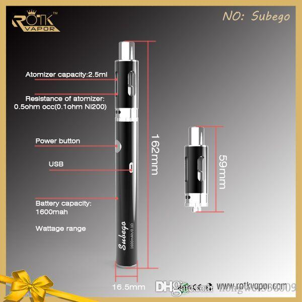 Electronic cigarette battery wont charge