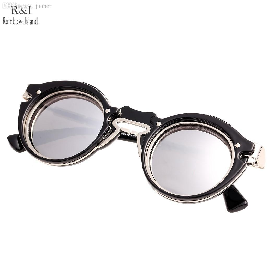 round designer sunglasses  Retro Steampunk Designer Sunglass Men 2016 New Fashion Round ...