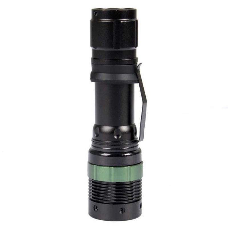 dhl led flashlight 3000 lumens waterproof zoomable xml q5 lamp light torch by 18650 rechargeable. Black Bedroom Furniture Sets. Home Design Ideas