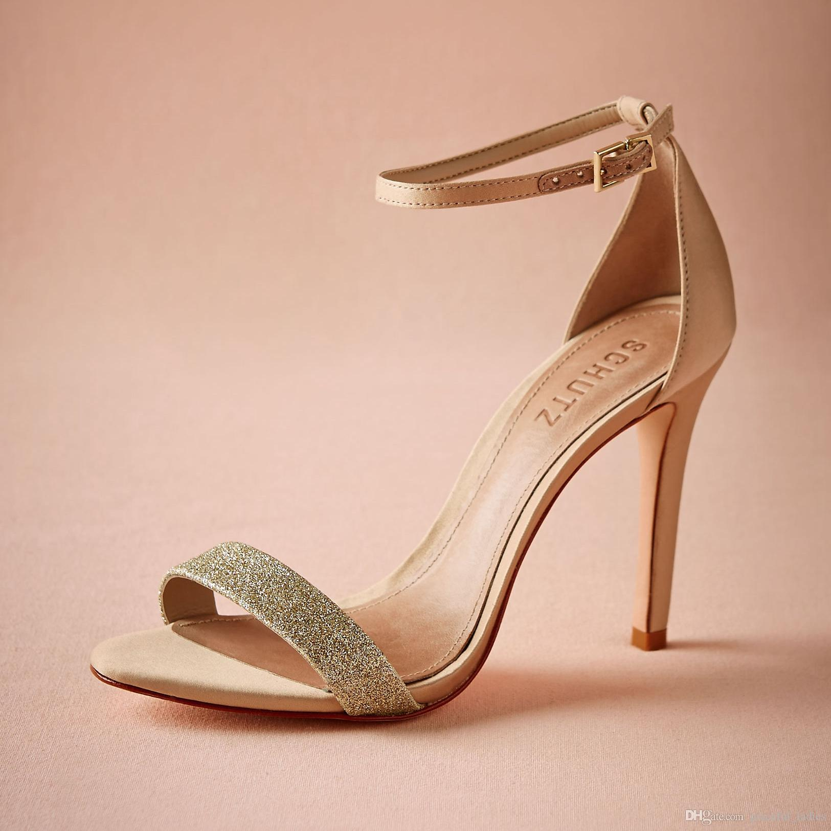 low heel wedding shoes Low Heel Shoes With Ankle Strap