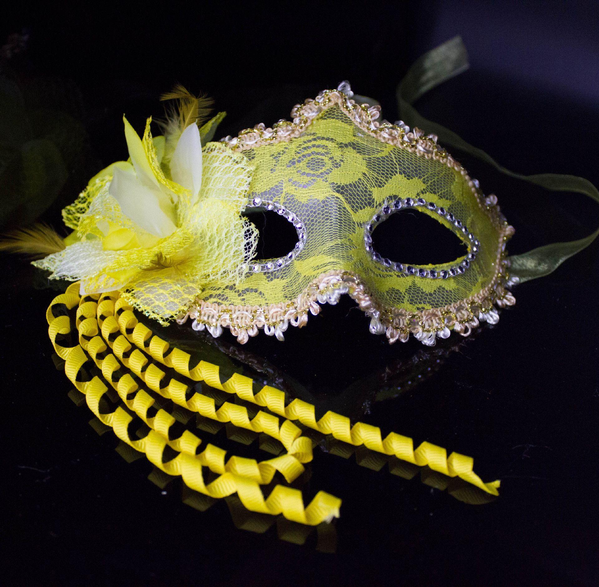 Women Prom Princess Mask Multicolor Masquerade Halloween Party ...