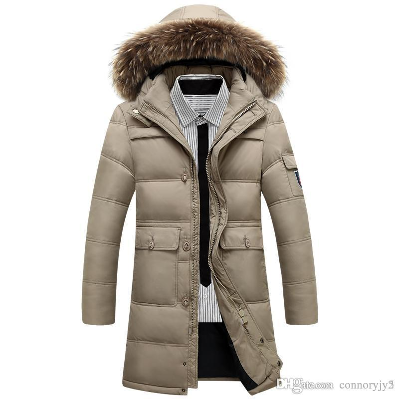 2015 Winter Jackets Men Hooded Big Size 4XL Snow Jackets Man X ...