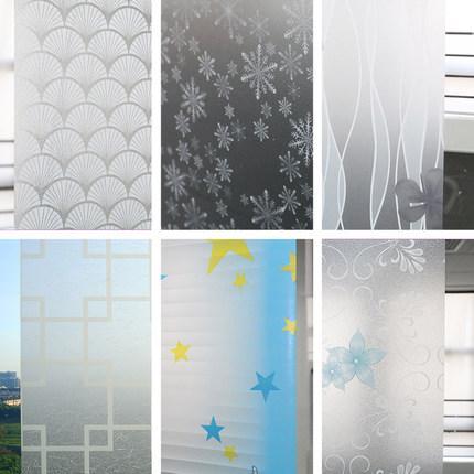 New Privacy Glass Film Home Decoration Beauty Children Decor Decorative Window Film 45cmx100cm