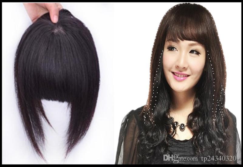 Clip On Bangs Human Hair Extensions Human Hair Extensions