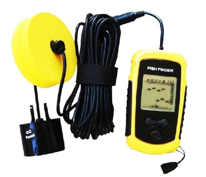 hot sale cheap portable sonar lcd alarm 100m ap ice fish finder, Fish Finder