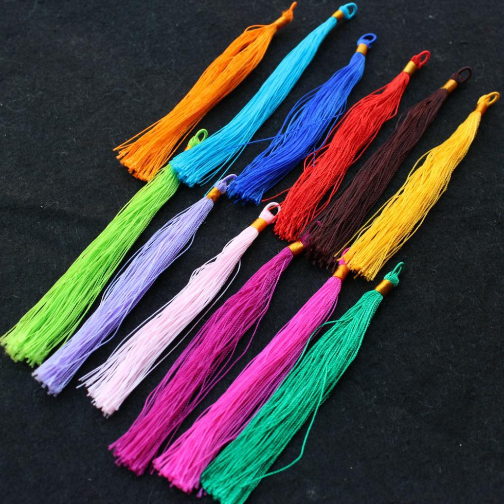 Arts and crafts supplies cheap - Art Silk Tassels Boho Jewelry Making Tassels Diy Craft Supplies 3 5 Mix Colors Ribbon Necalce Online With 23 43 Piece On Qianjewelryfinding S Store