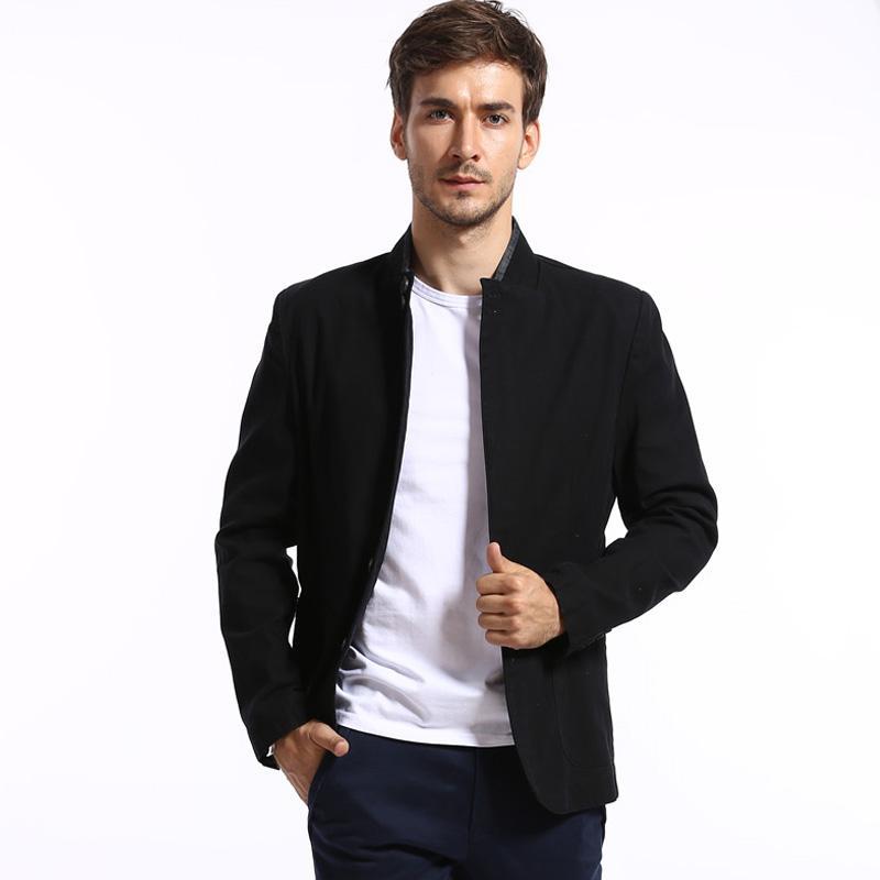 2017 2016 New Fashion Brand Men'S Casual Suit Men Warm Business