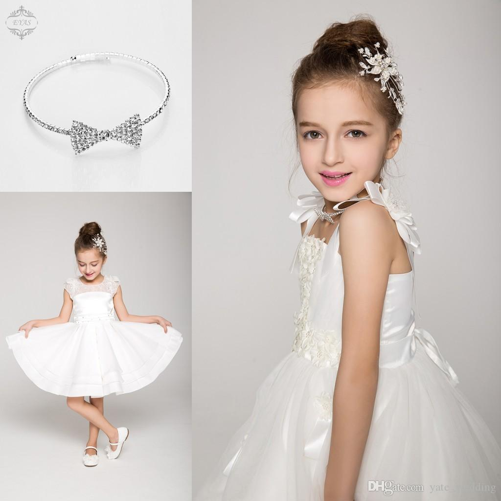 Junior bridesmaid hair accessories - 2015 Delicate Crystal Children Hair Accessories With Comb New Arrival