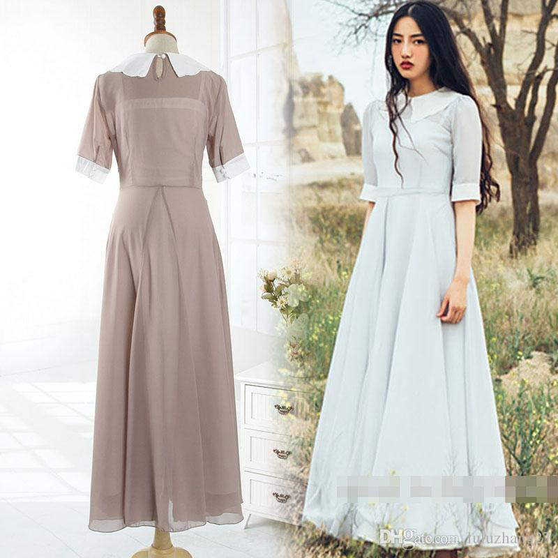 Vintage Two Piece Casual Dresses 2016 New Plus Size Women Summer ...