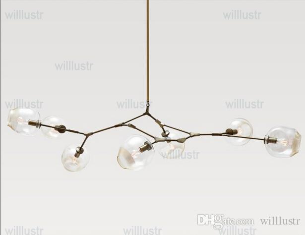 discount lindsey adelman chandeliers lighting modern lamp novelty pendant light natural tree