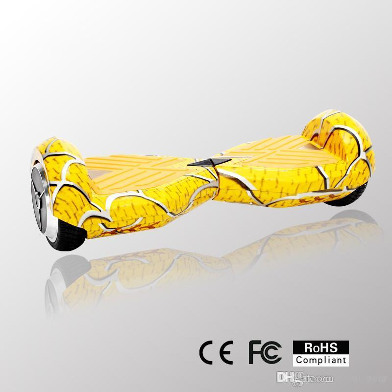Ul2272 Alien Board Hoverboard Yellow Bluetooth Hoverboard: Bluetooth Self Balancing 2 Wheel Scooter Hover Board