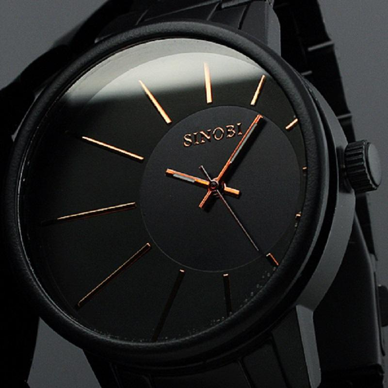 sinobi 9338 quartz watch men luxury brand black stainless steel sinobi 9338 quartz watch men luxury brand black stainless steel sports casual wrist watch 2015 top