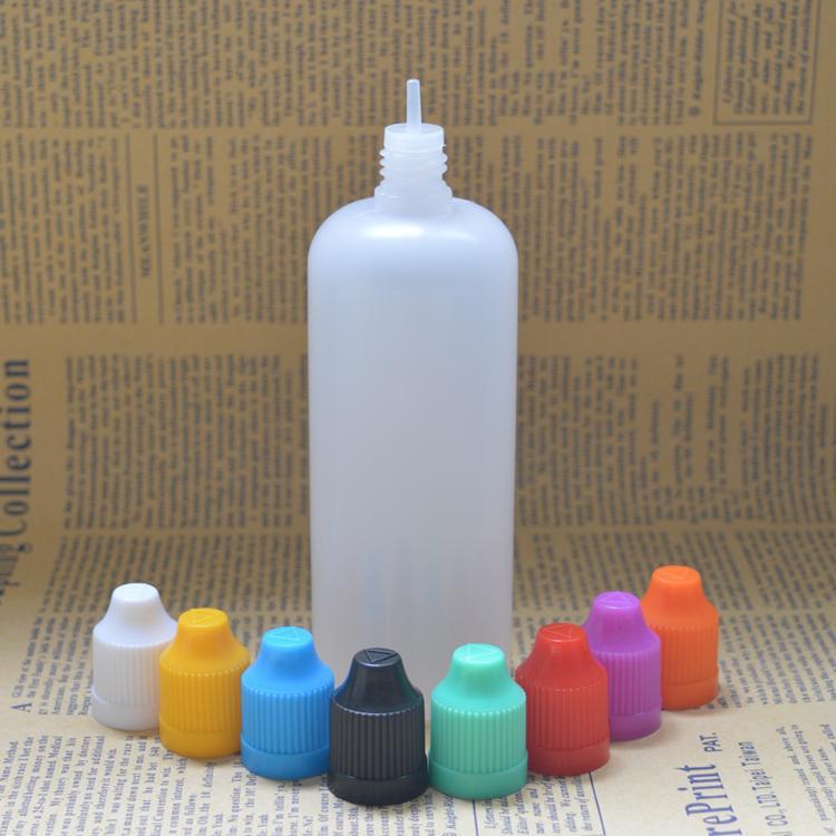 2016 e juice bottle 120ml plastic dropper empty bottles with child