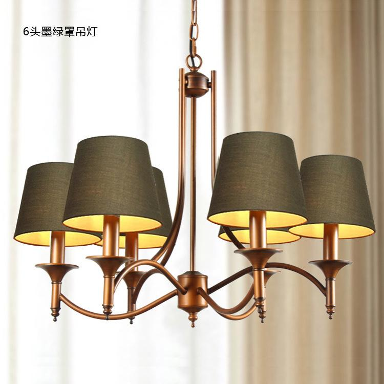 cheap european modern chandelier lighting retro personality living room bedroom dining rooms lamps factory outlet cheap chandelier lighting