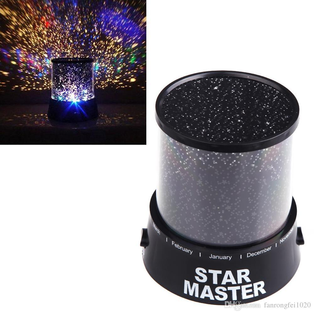 Star master projector lamp - 2017 Novelty Amazing Dreamlike Colorful Star Master Night Light Led Sky Star Master Table Light Projector Desk Night Lamp Ty1314 From Fanrongfei1020