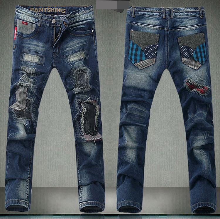 2017 Hot Sell New Brand New Menu0026#39;S Long Jeans Straight Designer Men Jeans Trousers Of Straight ...