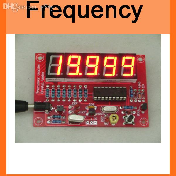 Diy Frequency Counter : Wholesale diy kits rf hz mhz crystal oscillator