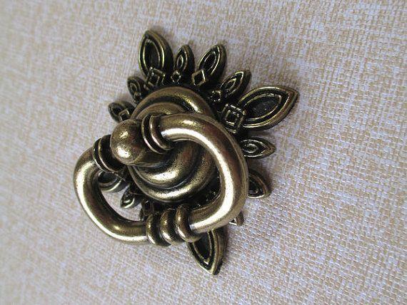 brass dresser drawer pull rings handles metaljpg - Decorative Drawer Pulls