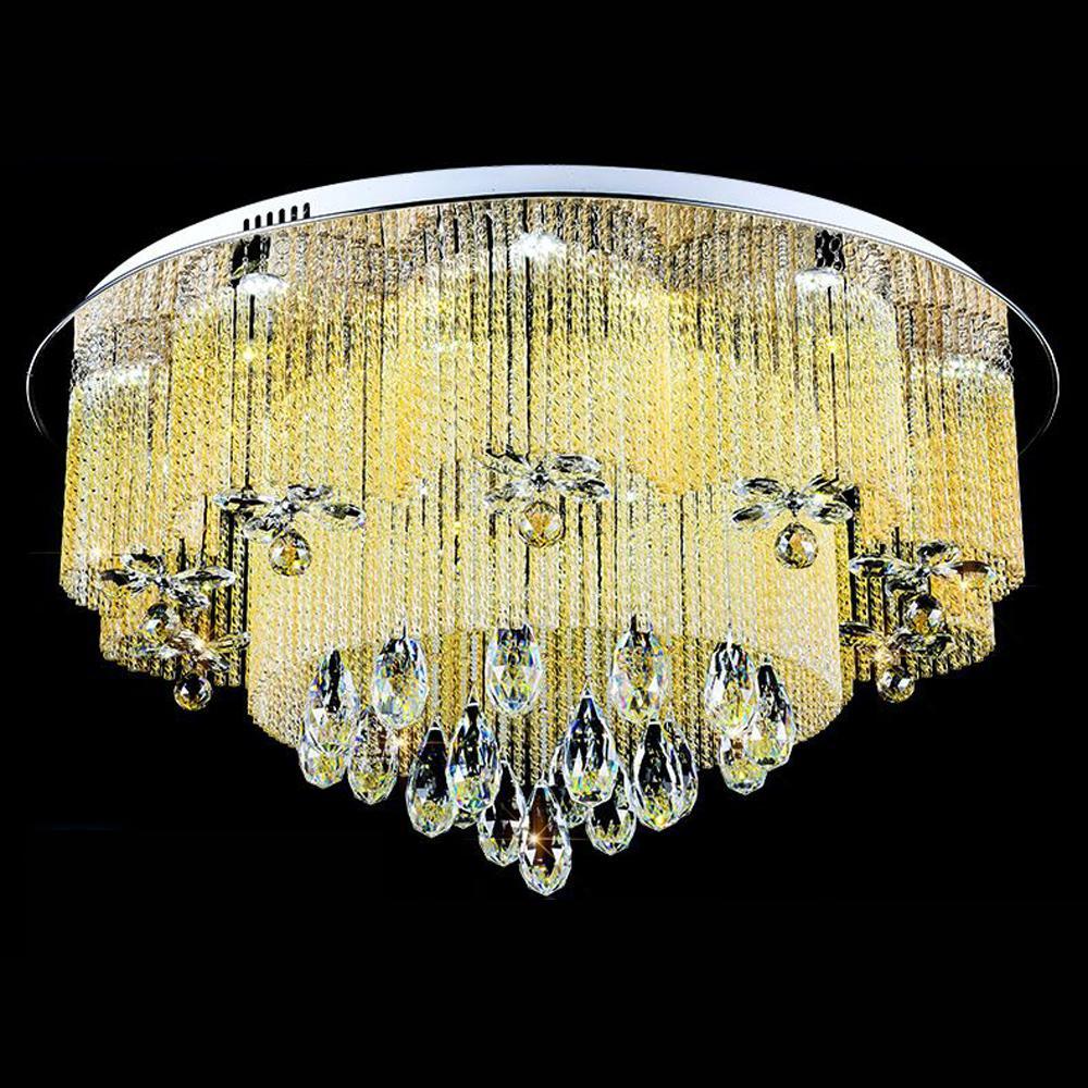 2017 31.5 Glass Sticks Living Room Led Ceiling Light Modern Dining ...