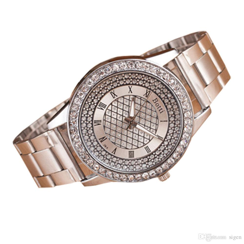 Best Ladies Gifts 2016 Part - 50: Women Watches Gold Tone 2016 Teenager Watches Girls Japan Movt Quartz Watch  Womenu0027s Luxury Gold Watches Charistmas Day Gift For Girls Women Watches  Gold ...