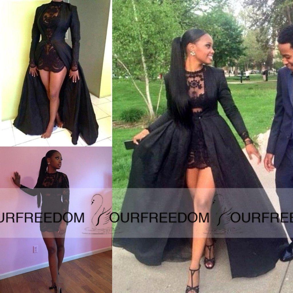 Black dress on the floor 10