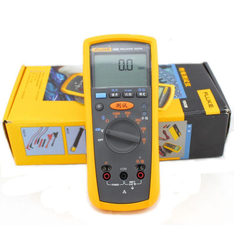 Fluke Insulation Resistance Tester : Fluke f insulation resistance tester meter