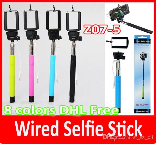 best z07 5 plus z07 5plus 5s extendable monopod selfie stick tripod handheld groove monopods. Black Bedroom Furniture Sets. Home Design Ideas