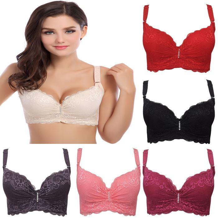 Wholesale 3/4 Cup Lace Push Up Bra Summer Style Large Size Sexy ...