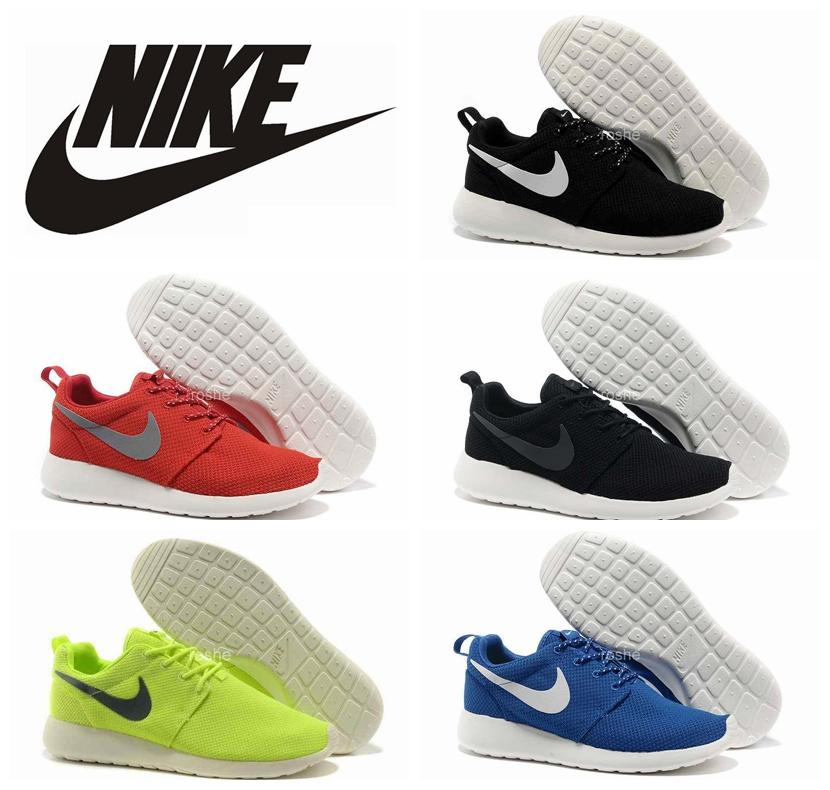 Classical Nike Roshe Run Running Shoes For Men Top Quality Lightweight Breathable Roshe Runs Athletic London Olympic Sport Sneakers 40-45