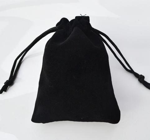 9*12CM Black Red Blue Purple Jewelry Pouches Bags Velvet ...