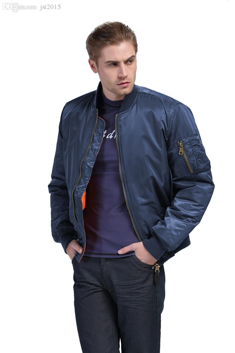 Fall Military Jacket Ma1 Pilot Jacket Ma 1 Flight Flying Jacket ...