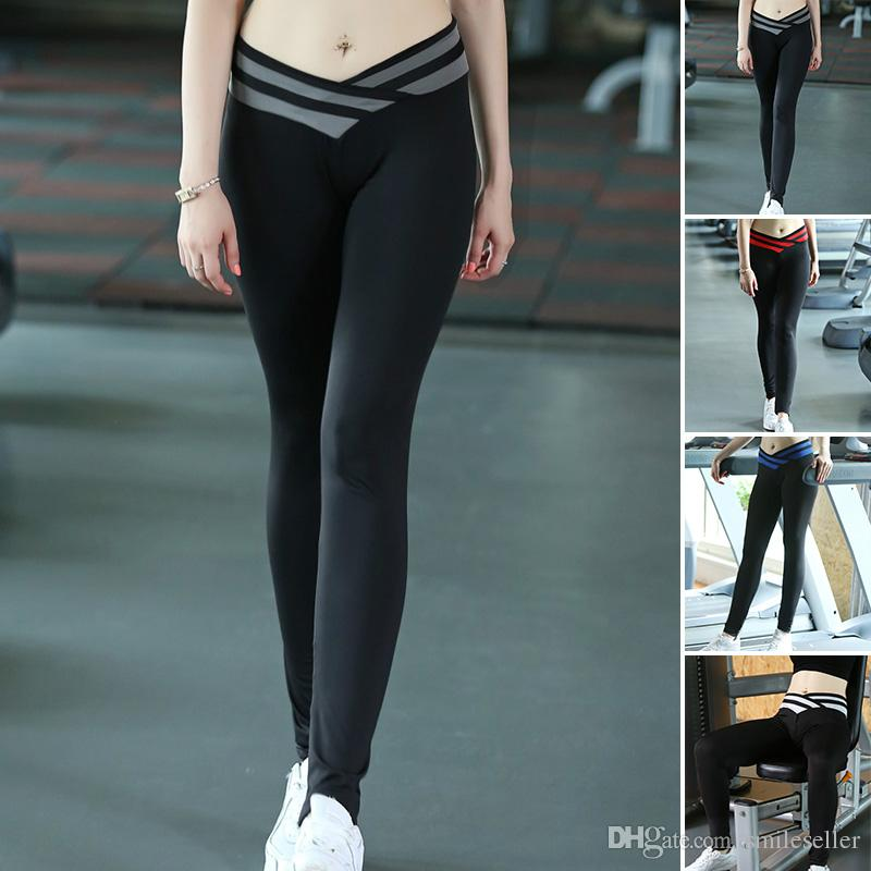 High Quality Fashion Women Leggings Gym Yoga Running Pants High ...
