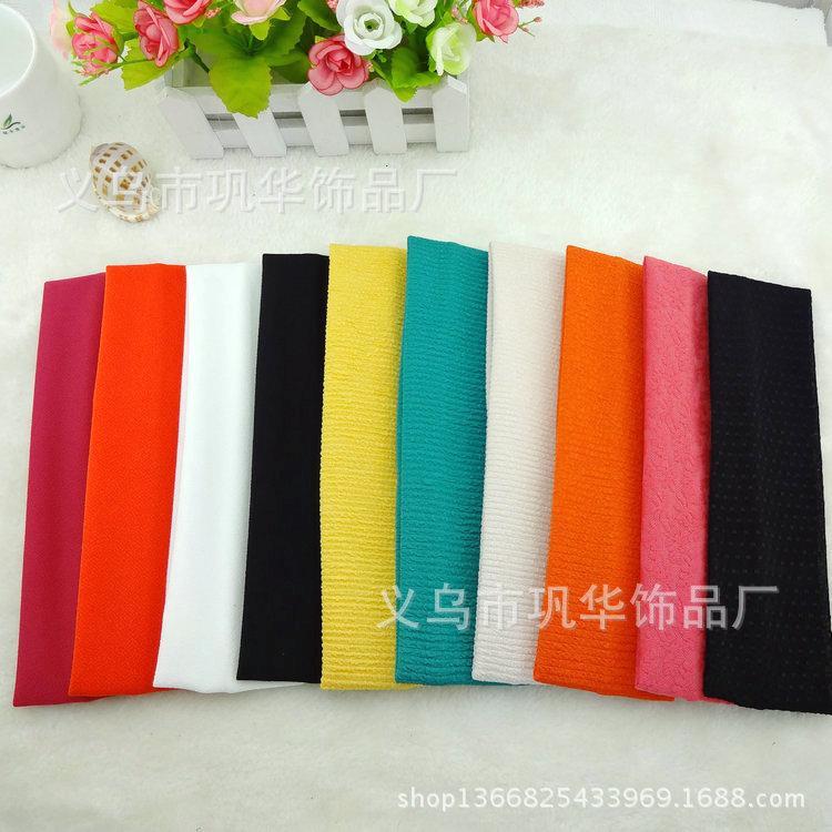 Fabric Elastic Hair Bands Korean Fabric Elastic Hair