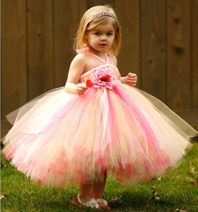 Colorful Beautiful Cute Ball Gown Princess Halter