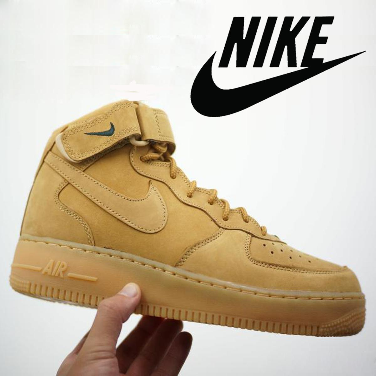 Air Force 1 Flax Mid