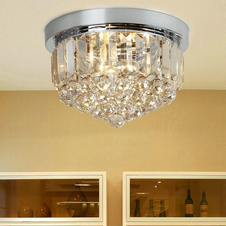 Modern Porch Ceiling Lights : New modern crystal ceiling lights of corridor balcony