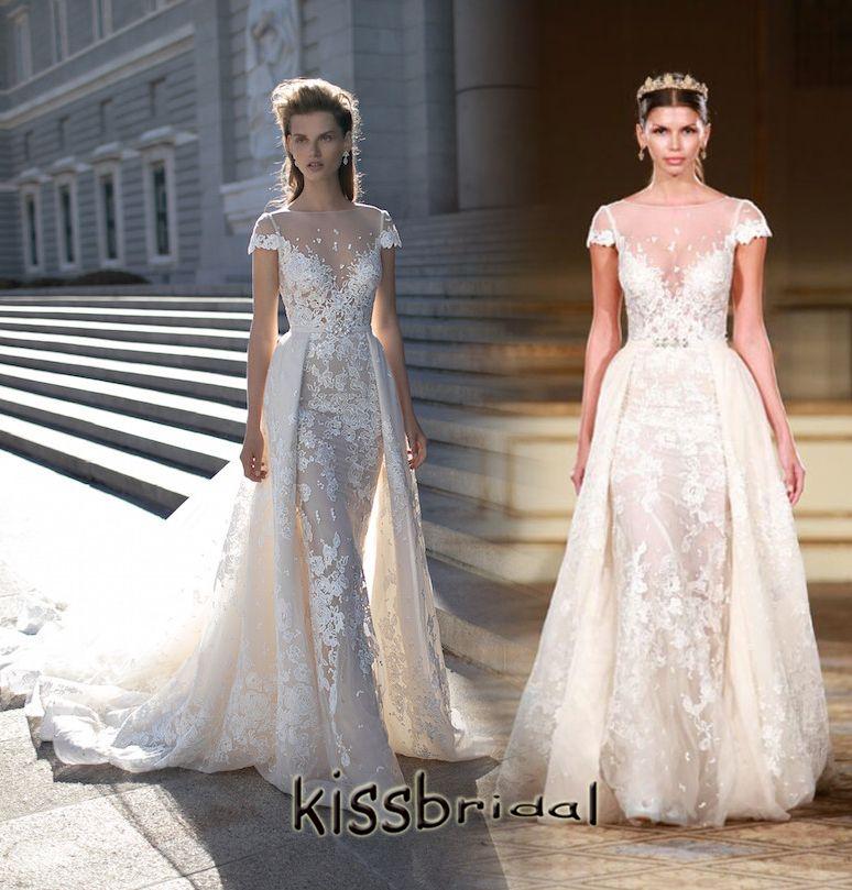 Discount Berta Bridal 2016 Wedding Dresses With Detachable