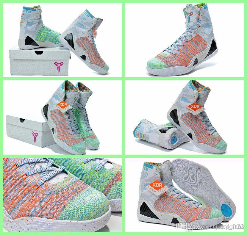 Size Us8-12 Sports Shoes Kobe 9 Elite High Cut Mens Basketball ...