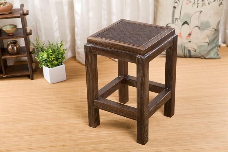 Wooden Japanese Stools ~ Japanese antique wooden vintage stool chair paulownia
