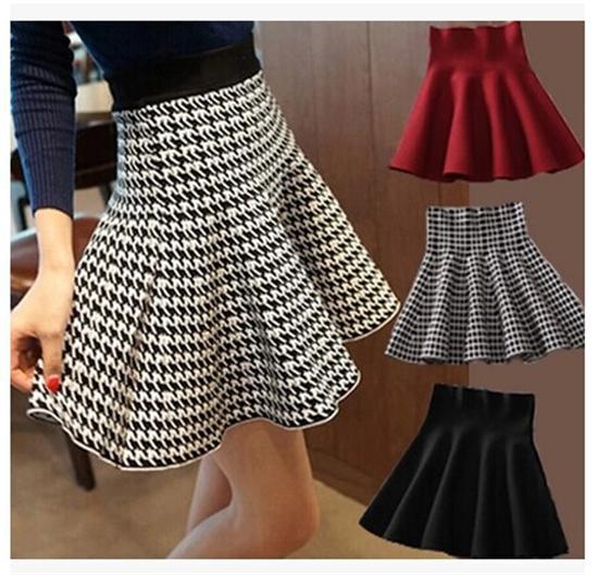 Plaid Skirt For Women