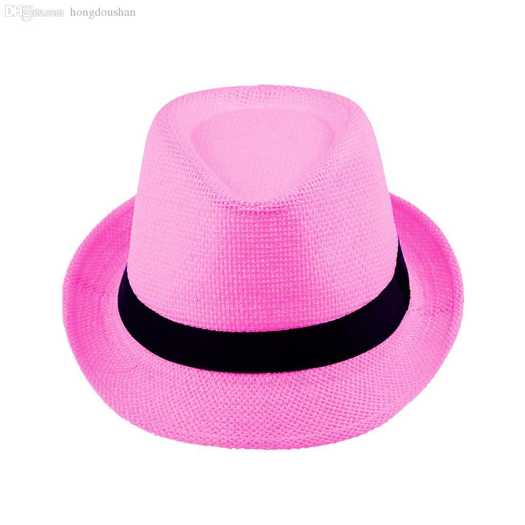 whole paper fedora hat buy cheap paper fedora hat from whole new arrival paper straw unisex fedora trilby gangster cap summer beach sun topee straw hat