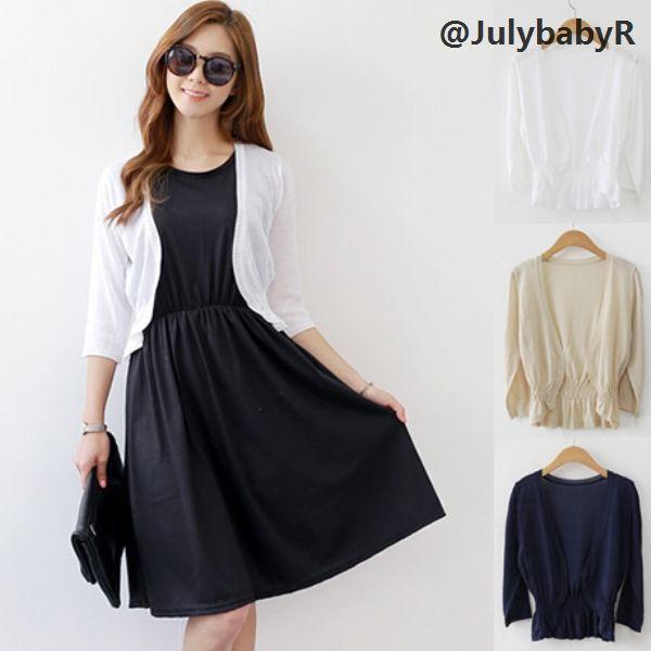 Summer Shrug Women Short Cardigan for Dresses Korean Autumn Women ...