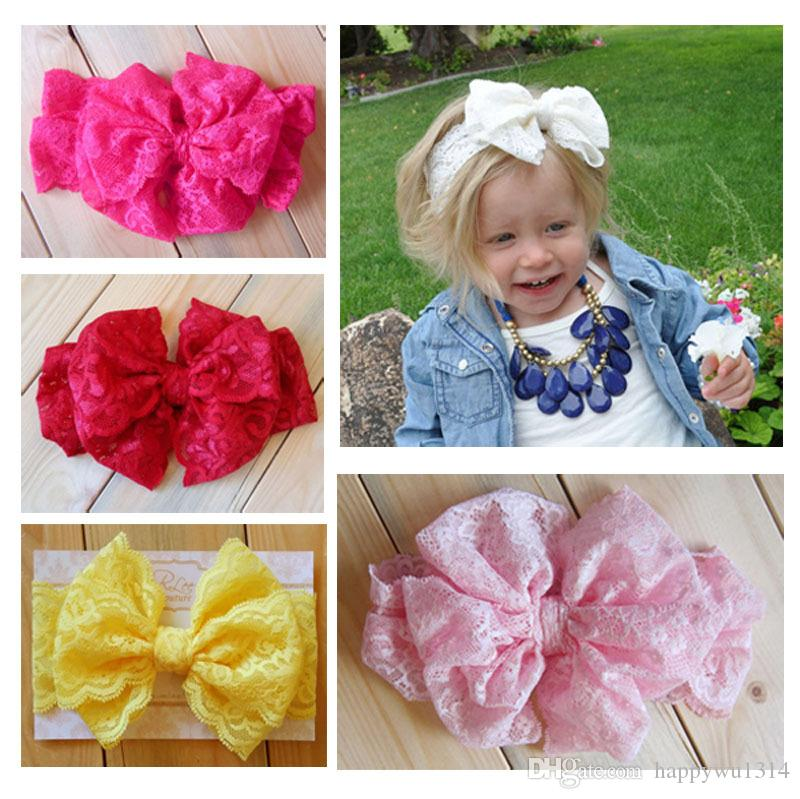 Stretch Headbands with Bows