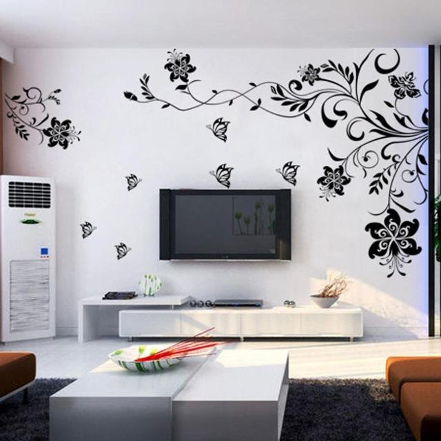2016 Wall Stickers New Arrival Large Pattern Solid Wall Decor 9