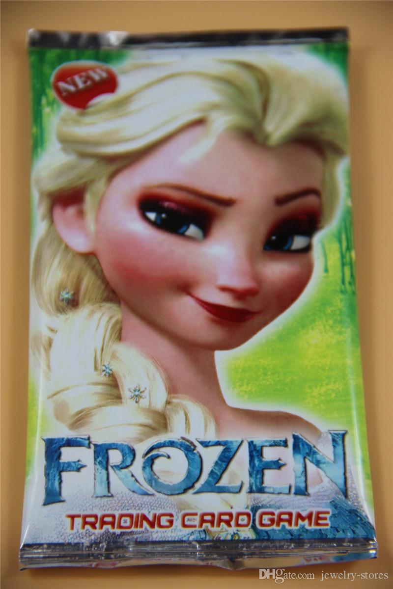 Frozen Trading Card Game Party Supplies Card Game Christmas Child 8
