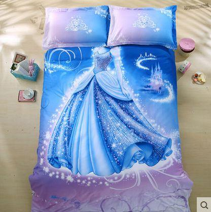 New Arrivals 4 5 Feet Cinderella Cribs Bedding Four Piece