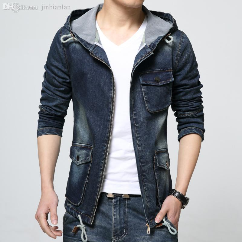 Fall New 2016 Retro Denim Jackets Mens Jeans Coats Winter Jackets ...